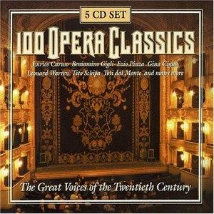 100 Opera Classics album cover