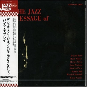 The Jazz Message Of Hank Mobley, Vol.1 album cover