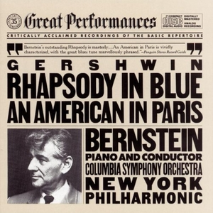 Gershwin: Rhapsody In Blue, An American In Paris album cover