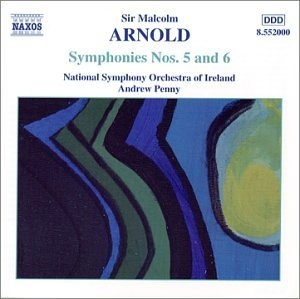Arnold: Symphonies No.5 & 6 album cover