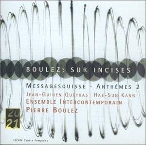 Boulez: Sur Incises album cover