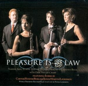 Pleasure Is The Law album cover