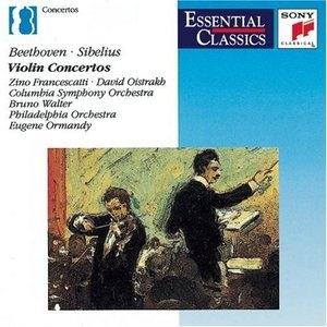 Beethoven, Sibelius: Violin Concertos album cover