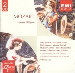 Mozart: The Marriage Of Figaro album cover