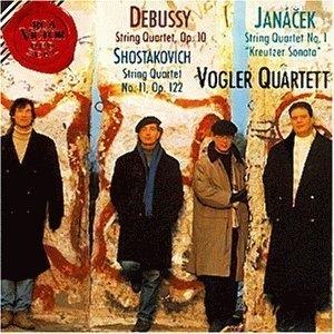 Debussy, Janácek, Shostakovich: String Quartets album cover