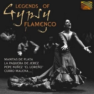 Legends Of Gypsy Flamenco album cover