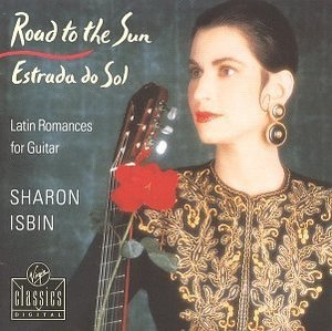 Road To The Sun: Latin Romances For Guitar album cover