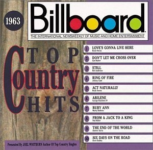 Billboard Top Country Hits: 1963 album cover