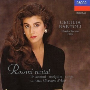 Rossini Recital album cover