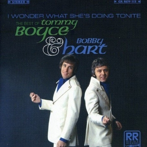 I Wonder What She's Doing Tonite: The Best Of Boyce & Hart album cover