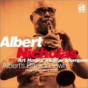 Albert's Back In Town album cover
