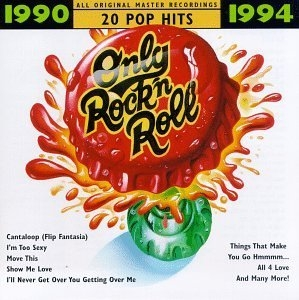 Only Rock 'N Roll 1990-1994 album cover