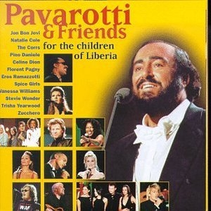 Pavarotti & Friends: For The Children Of Liberia album cover