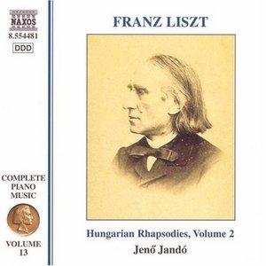 Liszt: Hungarian Rhapsodies, Vol.2 album cover