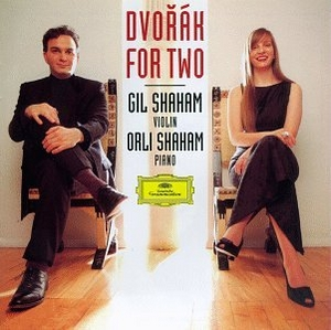 Dvorak For Two: Works For Violin & Piano album cover