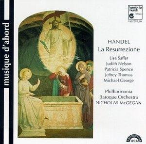 Handel: La Resurrezione album cover