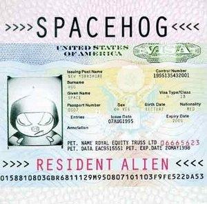 Resident Alien album cover