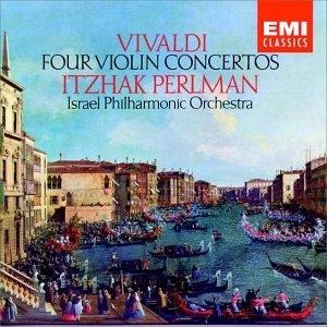 Vivaldi: 4 Violin Concertos album cover