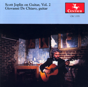 Scott Joplin On Guitar, Vol.2 album cover