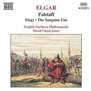 Elgar: Falstaff, Elegy, The Sanguine Fan album cover