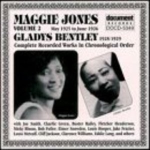 Maggie Jones (1925-1926) And Gladys Bentley (1928-1929) album cover