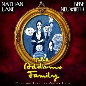 The Addams Family [Cast Recording] album cover