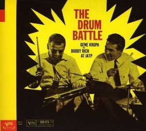 The Drum Battle At JATP album cover