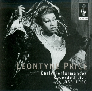 Early Performaces Recorded Live 1955-1960 album cover