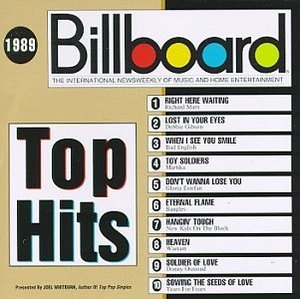 Billboard Top Hits: 1989 album cover