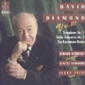 Diamond: Symphony No.1 album cover