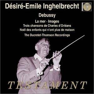 Debussy: La Mer~ Images album cover