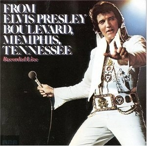 From Elvis Presley Boulevard Memphis Tennessee album cover