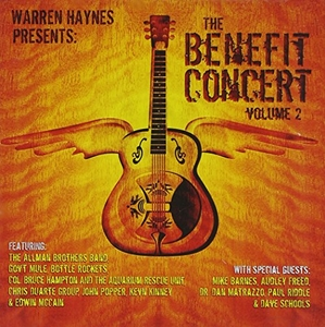 Warren Haynes Presents: The Benefit Concert, Vol. 2 album cover