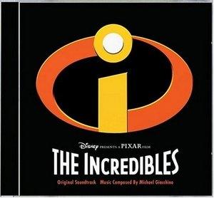 The Incredibles: Original Motion Picture Soundtrack album cover