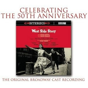 West Side Story (1957 Original Broadway Cast)p-1957) album cover