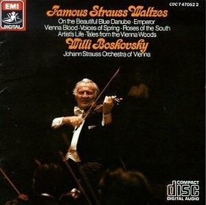 Strauss: Famous Strauss Waltzes album cover