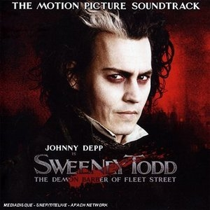 Sweeney Todd: The Motion Picture Soundtrack (Highlights) album cover