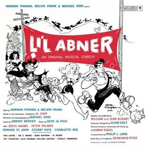Li'l Abner (1956 Original Broadway Cast)  album cover