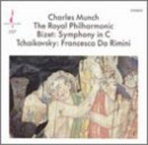 Bizet: Symphony In C~ Tchaikovsky: Francesca Da Rimini album cover