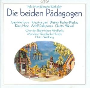 Mendelssohn: Die Beiden Padagogen album cover
