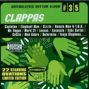Greensleeves Rhythm Album #35: Clappas album cover