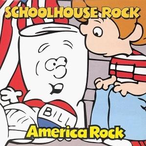 Schoolhouse Rock: America Rock album cover