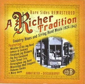 A Richer Tradition: Country Blues And String Band Music 1923-1942 album cover