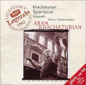 Khachaturian: Spartacus And Gayaneh album cover