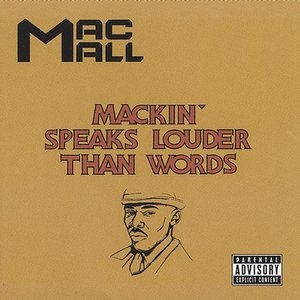 Mackin Speaks Louder Than Words album cover