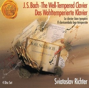 JS Bach: The Well-Tempered Clavier album cover