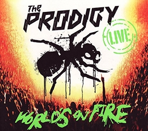 Live Worlds On Fire album cover