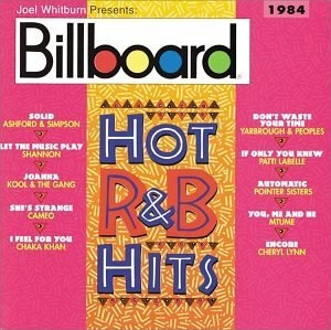 Billboard Hot R&B Hits: 1984 album cover
