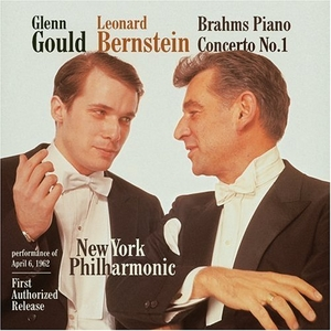 Brahms: Piano Concerto No.1 album cover