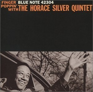 Finger Poppin' With The Horace Silver Quintet album cover